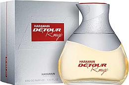 Düfte, Parfümerie und Kosmetik Al Haramain Detour Rouge - Eau de Parfum