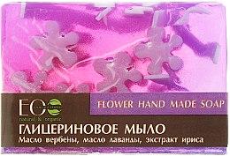 Düfte, Parfümerie und Kosmetik Glycerinseife mit Blumenölen und Extrakten - ECO Laboratorie Flower Hand Made Soap
