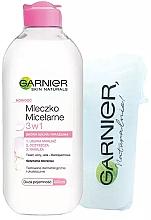 Düfte, Parfümerie und Kosmetik Gesichtspflegeset - Garnier Skin Naturals (Mizellenwasser zum Abschminken 400ml + Wattepads 15 St.)