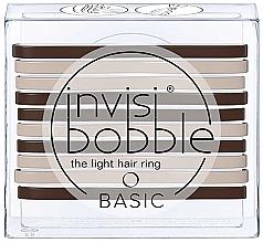Düfte, Parfümerie und Kosmetik Haargummi-Set - Invisibobble Basic Mocca & Cream