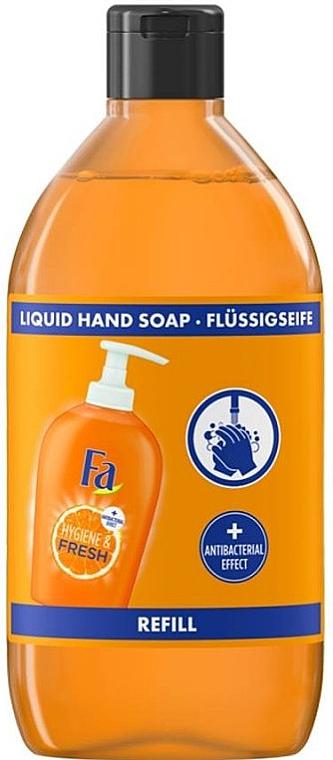 Antibakterielle Flüssigseife mit Orangenduft - Fa Hygiene & Fresh Orange Scent Liquid Soap (Nachfüller)