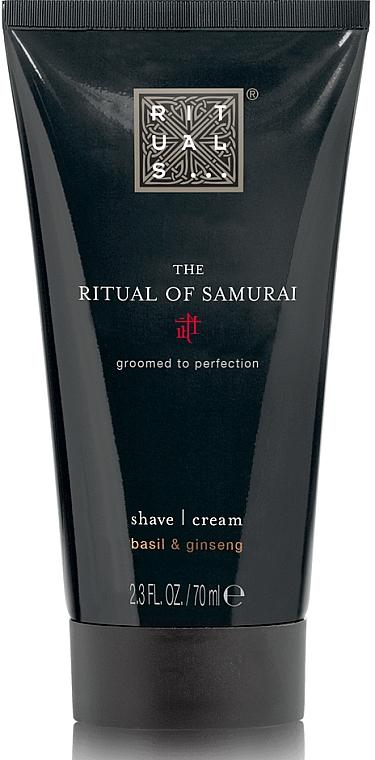 Schäumende Rasiercreme mit Basilikum und Ginseng - Rituals The Ritual Of Samurai Shave Cream