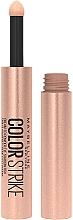 Düfte, Parfümerie und Kosmetik Lidschatten - Maybelline New Yok Color Strike Eye Shadow Pen
