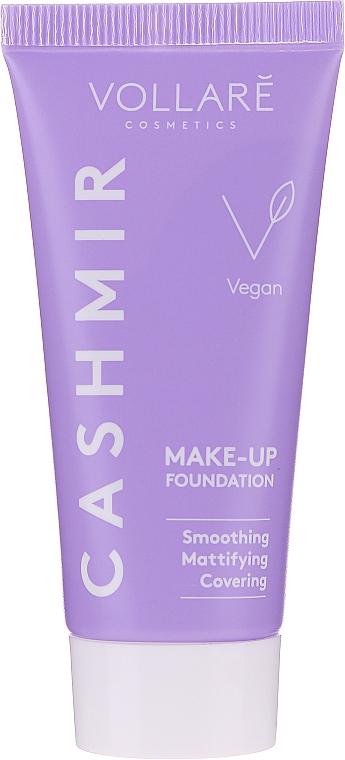 Glättende mattierende und deckende Foundation - Vollare Covering Cashmir Make-Up Foundation