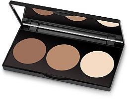 Düfte, Parfümerie und Kosmetik Konturpalette für Gesicht - Golden Rose Contour Powder Kit