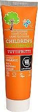 Düfte, Parfümerie und Kosmetik Fluoridfreie Kinderzahnpasta mit fruchtigem Geschmack - Urtekram Childrens Toothpaste Tuttifrutti