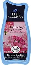 Düfte, Parfümerie und Kosmetik Raumduft-Gel Kirschblüten und Pfingstrose - Felce Azzurra Gel Air Freshener Sweet Harmony Talc & Cherry