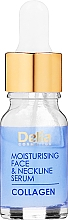 Düfte, Parfümerie und Kosmetik Anti-Falten-Gesichts- und Halsserum mit feuchtigkeitsspendender Intensivpflege - Delia Collagen Intensive Anti-Wrinkle and Moisturising Treatment Serum
