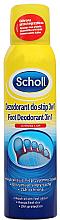 Düfte, Parfümerie und Kosmetik 3in1 Fußdeospray - Scholl 3in1 Antiperspirant