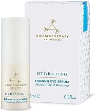 Düfte, Parfümerie und Kosmetik Feuchtigkeitsspendendes straffendes Augenkonturserum - Aromatherapy Associates Hydrating Firming Eye Serum