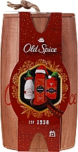 Düfte, Parfümerie und Kosmetik Körperpflegeset für Männer - Old Spice Captain Wooden (Festes Deodorant 50g + Duschgel 250ml + After Shave Lotion 100ml)