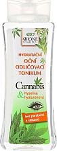 Düfte, Parfümerie und Kosmetik Bione Cosmetics Cannabis Eyes Tonic - Feuchtigkeitsspendender und bruhigender Augen-Make-up Entferner mit Hanföl
