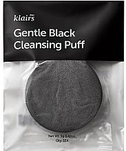 Düfte, Parfümerie und Kosmetik Gesichtsschwamm - Klairs Gentle Black Cleansing Puff