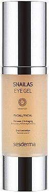 Augenkonturcreme - SesDerma Laboratories Snailas Gel Eye Contour — Bild N2