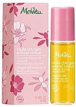 Düfte, Parfümerie und Kosmetik Körperöl mit Argan- und Hagebuttenöl - Melvita Huiles De Beaute Argan & Rose Hip Oil Roll-On