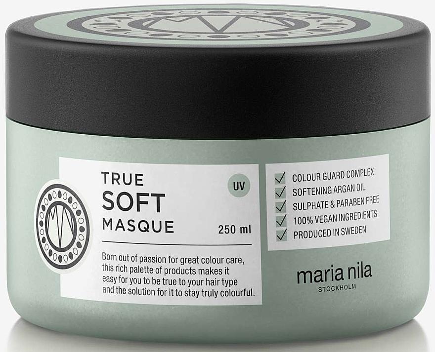 Sanfte Farbschutz-Maske mit Arganöl - Maria Nila True Soft Masque