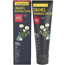Düfte, Parfümerie und Kosmetik Aufhellende und remineralisierende Zahnpasta mit Grapefruit-, Pfefferminz- und Thymianöl - SPLAT Professional Ultracomplex Enamel Remineralization