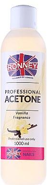 Nagellackentferner mit Vanille - Ronney Professional Acetone Vanilia