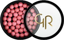 Düfte, Parfümerie und Kosmetik Puderperlen mit Rouge-Effekt - Golden Rose Ball Blusher Rouge Pearl