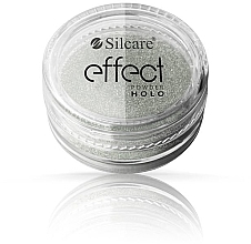 Düfte, Parfümerie und Kosmetik Nagelpuder - Silcare Effect Powder Holo