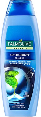 Anti-Schuppen Shampoo mit grüner Minze - Palmolive Naturals Anti-Dandruff Shampoo