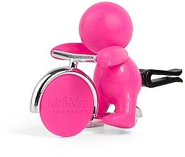 Düfte, Parfümerie und Kosmetik Mr&Mrs Fragrance Gino Pink Citrus & Musk Fuchsia - Auto-Lufterfrischer Citrus & Musk Fuchsia