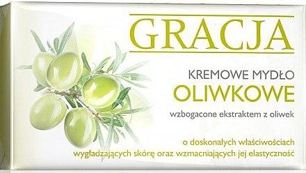 Körperseife mit Olivenextrakt - Miraculum Gracja Olive Cream Soap