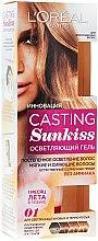 Düfte, Parfümerie und Kosmetik Gel zum Aufhellen natürlicher Haare - L'Oreal Paris Casting Sunkiss