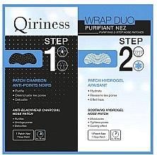 Düfte, Parfümerie und Kosmetik 2-stufige Nasenpads - Qiriness Purifiant Nez 2-Step Nose Patches