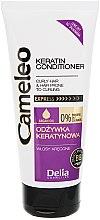 Düfte, Parfümerie und Kosmetik Conditioner mit Keratin für welliges Haar - Delia Cameleo Conditioner