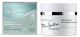 Düfte, Parfümerie und Kosmetik Aktivierende Feuchtigkeitscreme für das Gesicht - Dr. Spiller Alpenrausch Active Moisturizing Cream