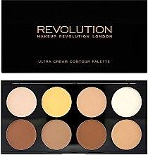Düfte, Parfümerie und Kosmetik Highlighter-Palette - Makeup Revolution Ultra Cream Contour Palette