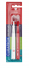 Düfte, Parfümerie und Kosmetik Kinderzahnbürste ultra weich rot, weiß 2 St. - Curaprox Kids Swiss School Toothbrush