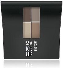 Düfte, Parfümerie und Kosmetik Matte Lidschatten - Make Up Factory Mat Eye Colors