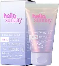 Sonnenschützender Gesichtsprimer SPF 50 - Hello Sunday The One That's Got it All Face Primer SPF50 — Bild N2