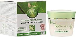Düfte, Parfümerie und Kosmetik Feuchtigkeitsspendende Gesichtscreme mit Gurkenextrakt 20+ - Ava Laboratorium Eco Garden Certified Organic Cream With Cucumber