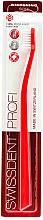Düfte, Parfümerie und Kosmetik Zahnbürste weich rot - SWISSDENT Profi Whitening Soft