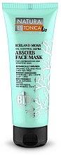 Düfte, Parfümerie und Kosmetik Gesichtsreinigungsmaske mit isländischem Moos, Teebaumöl, Vitaminen und weißem Ton - Natura Estonica Iceland Moss Face Mask