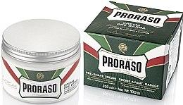 Düfte, Parfümerie und Kosmetik Pre Shave Creme mit Menthol und Eukalyptus - Proraso Green Pre Shaving Cream