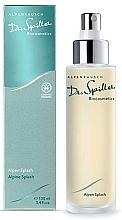 Düfte, Parfümerie und Kosmetik Erfrischendes Gesichts- und Körperspray mit Rosenwasser, Enzian, Edelweiß und Ysop - Dr. Spiller Alpen Splash