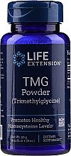 Düfte, Parfümerie und Kosmetik Nahrungsergänzungsmittel Betain in Pulverform 50 g - Life Extension TMG Powder Trimethylglycine