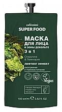 Düfte, Parfümerie und Kosmetik 3in1 Maske für Gesicht und Dekolleté mit Spirulina und Seetang - Cafe Mimi Super Food
