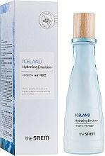 Düfte, Parfümerie und Kosmetik Feuchtigkeitsspendende Gesichtsemulsion mit Fruchtextrakten - The Saem Iceland Hydrating Emulsion