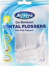 Düfte, Parfümerie und Kosmetik Zahnseide-Sticks 50 St. - Beauty Formulas Active Oral Care Dental Flossers
