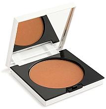 Düfte, Parfümerie und Kosmetik Langanhaltender kompakter Puder-Bronzer mit Spiegel - Rougj+ Terra Long-Lasting Glam Tech