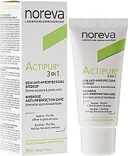 Düfte, Parfümerie und Kosmetik Gesichtspflege 3in1 für Problemhaut - Noreva Actipur Intensive Anti-Imperfection Care 3in1