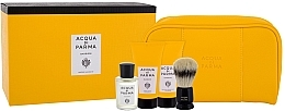 Düfte, Parfümerie und Kosmetik Acqua di Parma Colonia - Duftset (Eau de Cologne 20ml + Rasiercreme 40ml + After Shave Balsam 40ml + Rasierbürste + Kosmetiktasche)