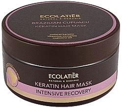 Düfte, Parfümerie und Kosmetik Keratin-Haarmaske mit Cupuacu - Ecolatier Brazilian Cupuacu Mask