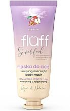 Düfte, Parfümerie und Kosmetik Pflegende und regenerierende Nachtmaske für den Körper mit Apfelkuchen-Duft - Fluff Superfood Apple Pie Sleeping Overnight Body Mask