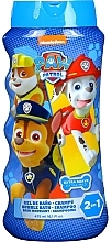 Düfte, Parfümerie und Kosmetik 2in1 Shampoo und Schaumbad für Kinder - Nickelodeon Paw Patrol